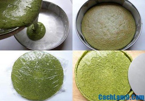 Cách làm bánh cupcake trà xanh ngon, đẹp