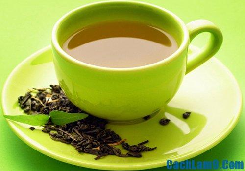Cách giảm mỡ bụng bằng trà xanh, tốt cho sức khỏe