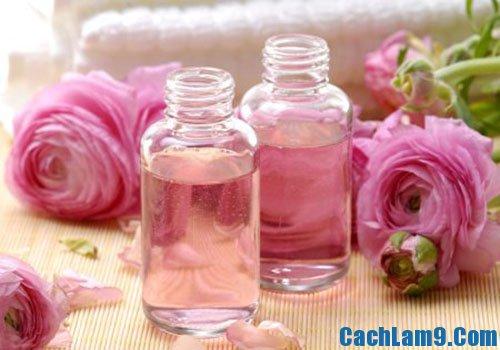 Cách làm nước hoa hồng tinh khiết sử dụng để làm đẹp
