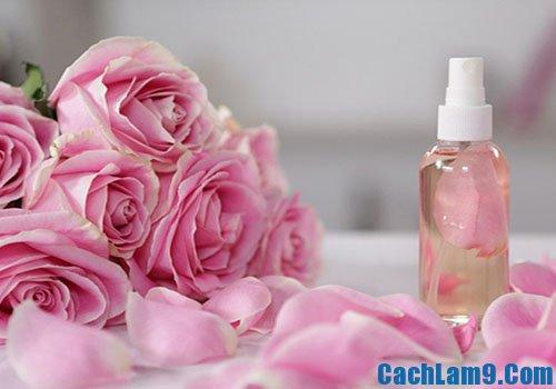 Cách làm nước hoa hồng tinh khiết, hướng dẫn làm nước hoa hồng