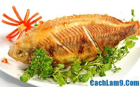 Hướng dẫn cách làm món cá diêu hồng chiên xù đơn giản mà hấp dẫn
