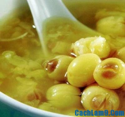 Cách nấu chè hạt sen nấm tuyến bổ dưỡng cho cả nhà