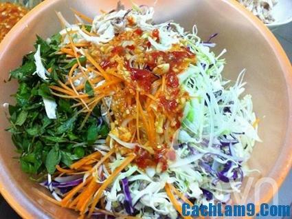 Hướng dẫn cách làm gỏi bắp cải mực khô ngon