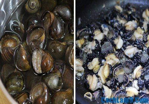 Những nguyên liệu cần có để nấu bún đậu ốc