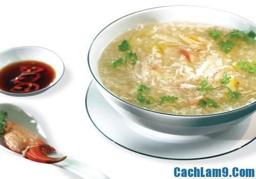 Cách nấu sup cua nấm linh chi bổ dưỡng