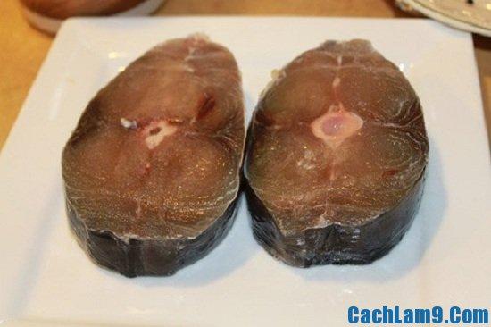 Nguyên liệu làm cá ngừ rim tỏi ớt