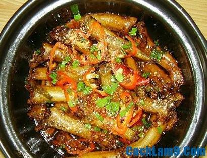 Cách nấu cá bống kho tiêu ngon