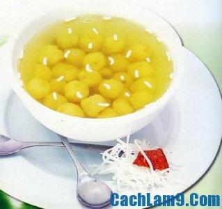 Cách nấu chè hạt sen dừa tươi