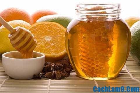 Chuẩn bị nguyên liệu pha chế trà chanh mật ong, chuan bi nguyen lieu pha che tra chanh mat ong