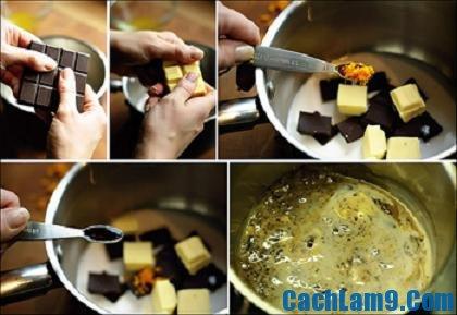 Hướng dẫn cách làm socola tại nhà