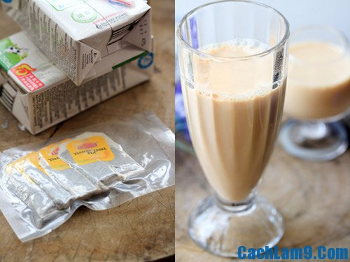 Cách làm trà sữa trân châu