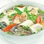 Lạ miệng với cách nấu món canh cá lóc măng chua cực ngon