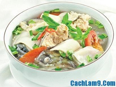 Cách nấu canh cá lóc măng chua
