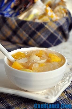 Cách nấu chè hạt sen đu đủ ngon và bổ dưỡng