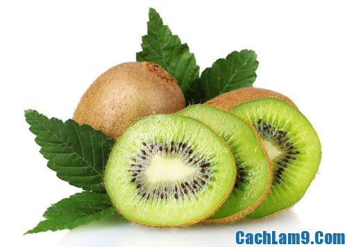 Chuẩn bị nguyên liệu làm kem kiwi