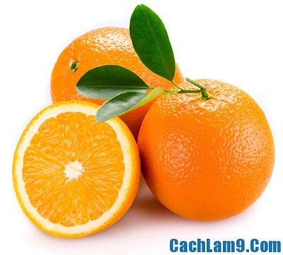 Chuẩn bị nguyên liệu pha chế sinh tố cam cà rốt