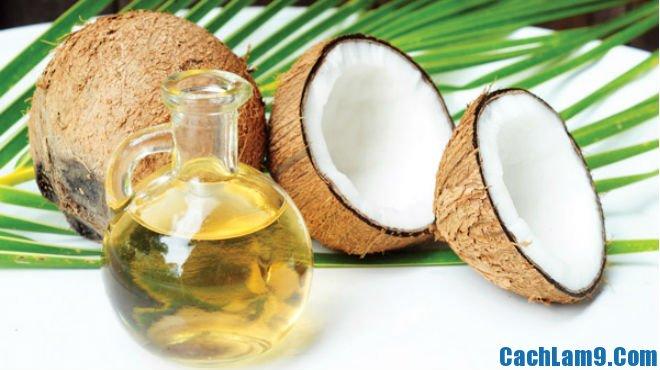 Cách giảm cân bằng dầu dừa