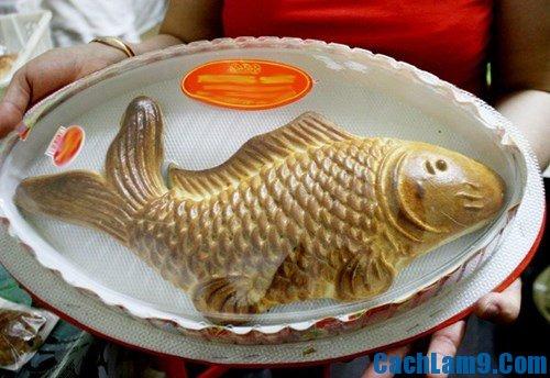 Cách làm bánh trung thu hình con cá