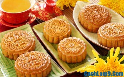 Yêu cầu thưởng thức bánh Trung thu nhân sữa dừa