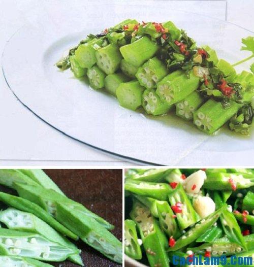 Hướng dẫn thực hiện cách làm đậu bắp xào tỏi