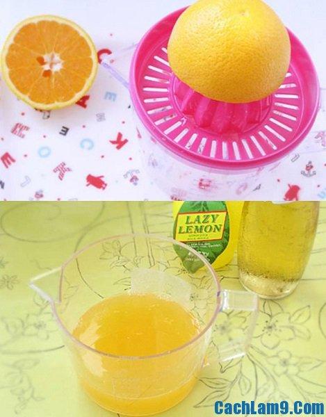 Hướng dẫn cách làm kem cam kiwi