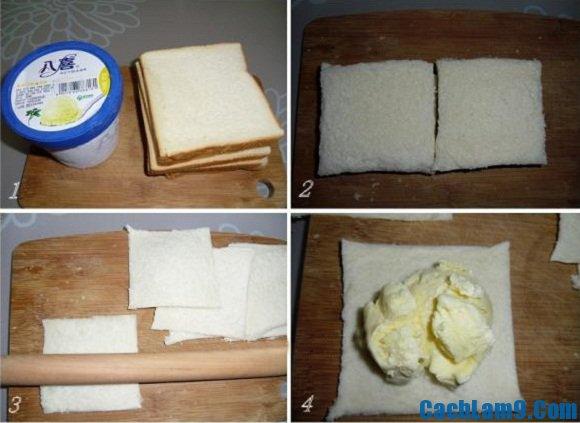 Hướng dẫn cách làm kem chiên