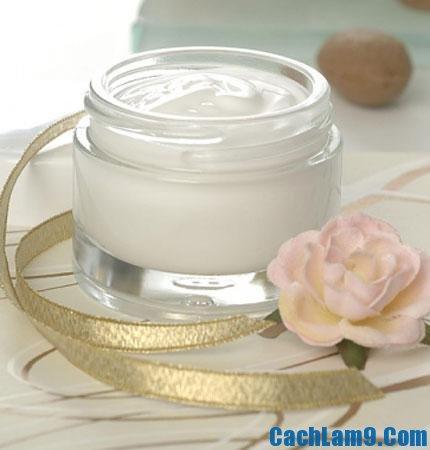 Bảo quản kem dưỡng trắng da