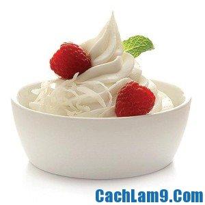 Cách làm kem sữa tươi