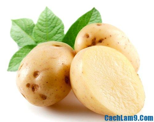 Nguyên liệu làm nộm khoai tây