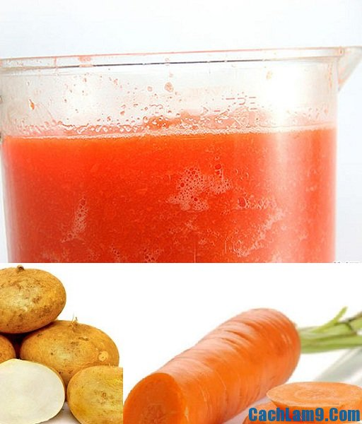 Nguyên liệu làm sinh tố củ đậu