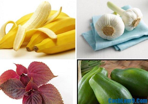 Một số cách trị mụn cơm từ thiên nhiên