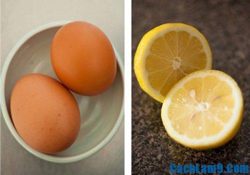 Hướng dẫn tẩy lông nách bằng lòng trắng trứng gà và chanh
