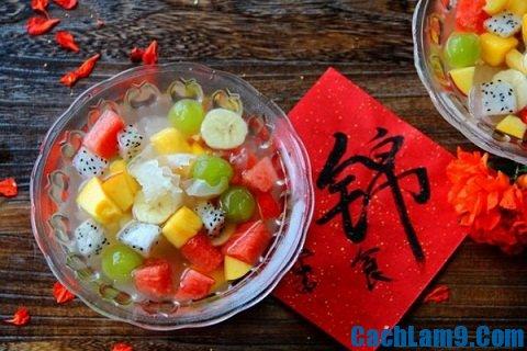 nấu ăn cơ bản: Cách nấu chè thạch trái cây đơn giản mà cực ngon