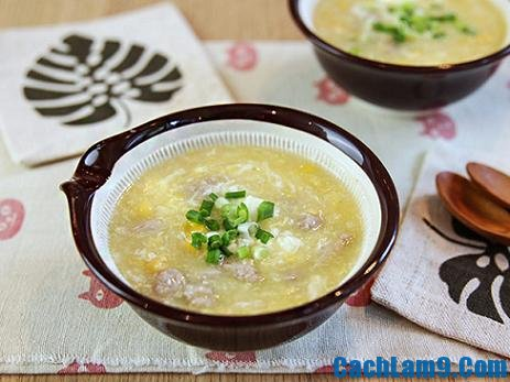 Cách nấu súp thịt bò,