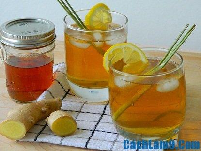 nấu ăn sáng: Cách pha chế trà chanh sả gừng ngon, tốt cho sức khoẻ