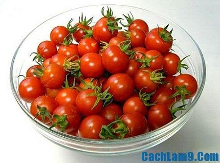 Chuẩn bị nguyên liệu làm thạch cà chua, chuan bi nguyen lieu lam thach ca chua