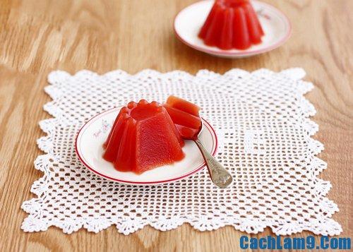 Thưởng thức thạch cà chua, thuong thuc thach ca chua
