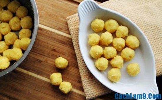 Cách làm bánh trôi tàu nhân đậu xanh đơn giản