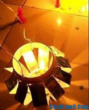 Làm đèn lồng Trung thu đơn giản từ vỏ lon bia tại nhà