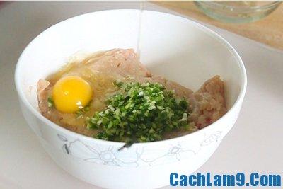 Nguyên liệu làm rau cải trộn tôm trứng muối