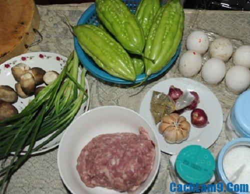 cách nấu ăn: Bật mí cách làm canh mướp đắng nhồi thịt ngọt mát và bổ dưỡng
