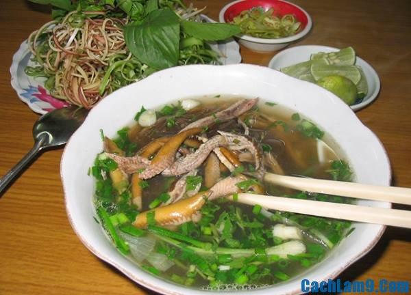 Cách nấu miến lươn