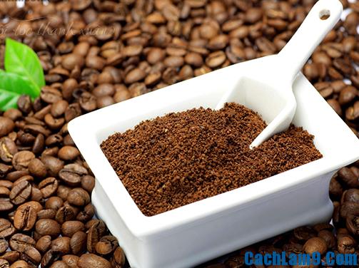 Chuẩn bị nguyên liệu nhuộm tóc bằng cà phê