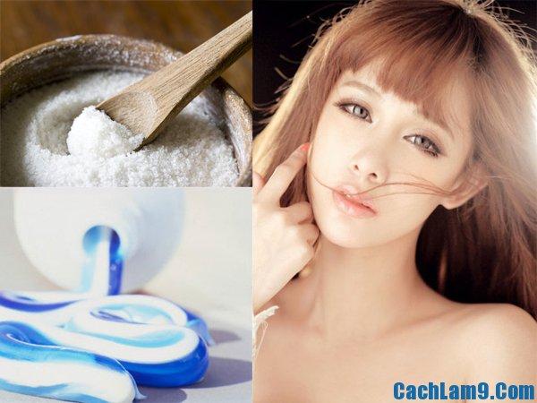 Hướng dẫn cách trị mụn bằng kem đánh răng