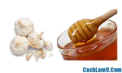 Cách trị mụn bằng tỏi, mật ong và chanh đơn giản