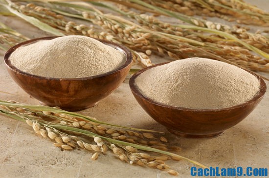 Cách trị nám da bằng cám gạo