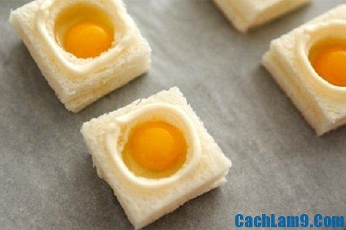 Hướng dẫn cách làm bánh trứng cút