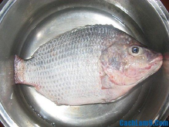 Nguyên liệu để làm ruốc cá