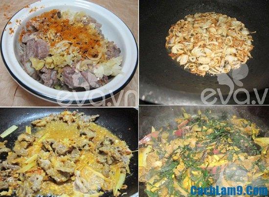 Hướng dẫn cách làm thịt dê xào lăn ngon