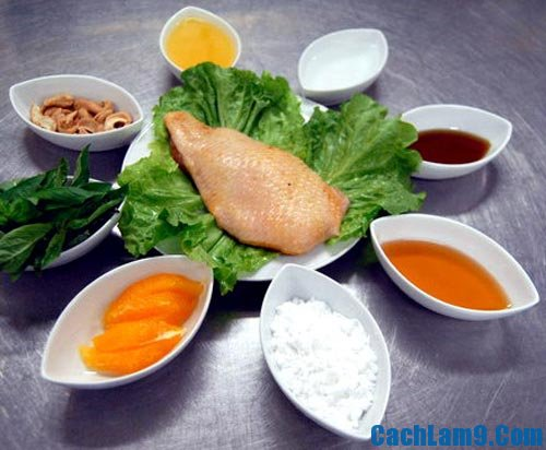 Nguyên liệu nấu cà ri vịt quay